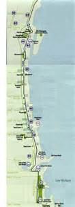 Chicago Bike Trail Map by Indiana Chicago Map