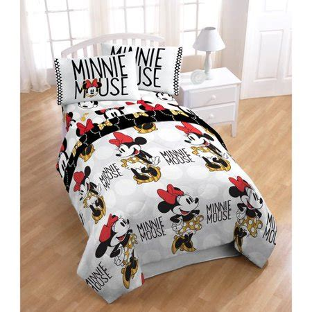 Mickey Mouse Bed In A Bag by Disney Minnie Mouse Bed In A Bag 5 Bedding Set