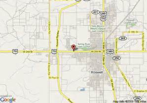 map of ramada limited roswell roswell