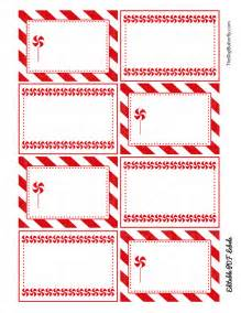 best photos of candy cane legend printable tags