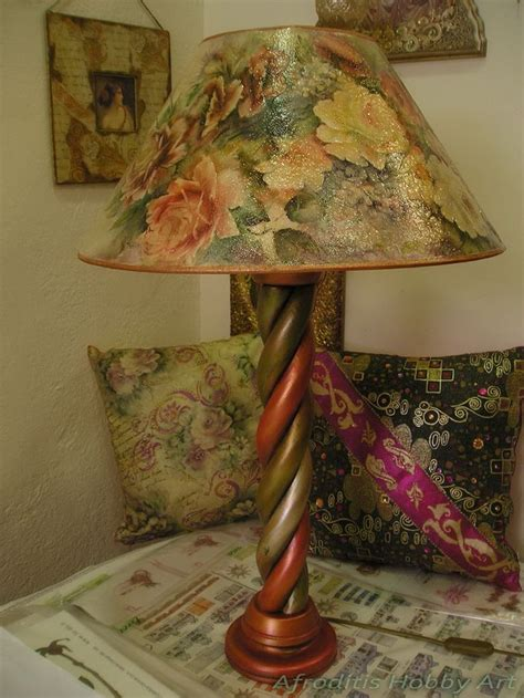 Decoupage Light Shade - 116 best images about decoupage afroditis hobby on
