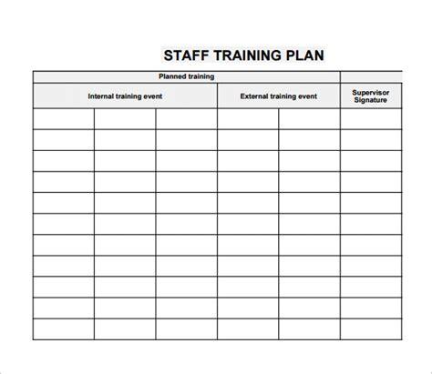 employee training plan template tristarhomecareinc