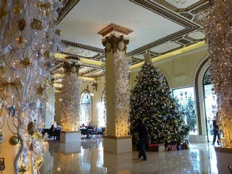 hotel lobby christmas decorations lobby decorations picture of the lobby at the peninsula hong kong hong kong