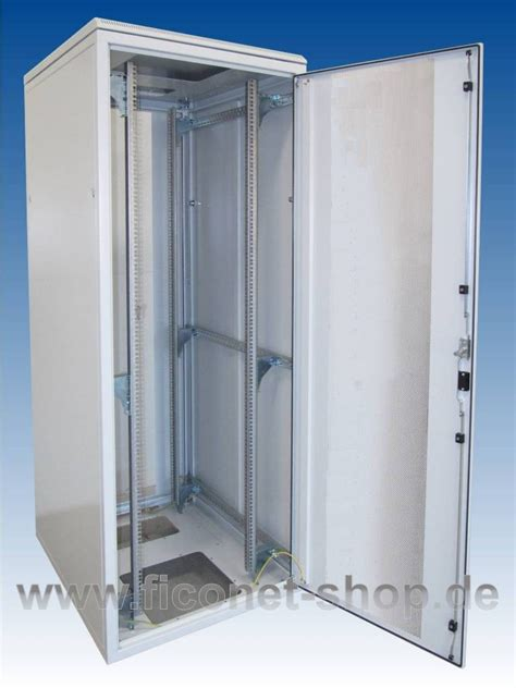 Perforated Cabinet Doors Fionex 19 Quot Server Cabinet 800x1200x42u Perforated Sheet Steel Door Ficonet Systems Gmbh