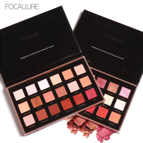Eyeshadow Focallure Review focallure 18 colors eyeshadow palette matte