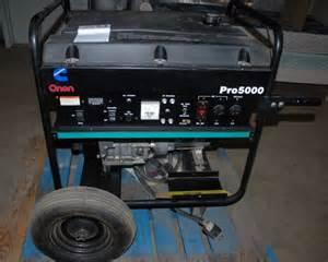 onan pro 5000 watt generator quot elite 140 quot