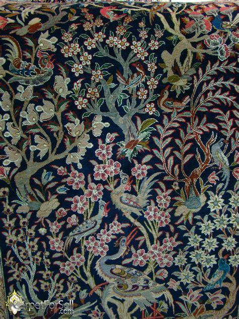 Handmade Carpets - esfahan tree of design handmade carpet