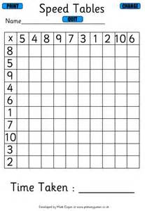 number names worksheets 187 times table grid test free