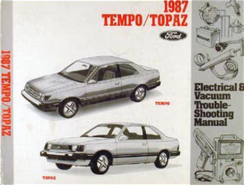 free auto repair manuals 1987 mercury cougar free book repair manuals 1987 thunderbird cougar wiring diagram 87 tbird t bird