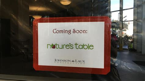 Natures Table Cafe by Nature S Table Opening In Downtown Orlando S Regions Tower Orlando Business Journal
