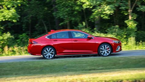 2018 buick regal gs debuts with 310 hp 9 speed and awd