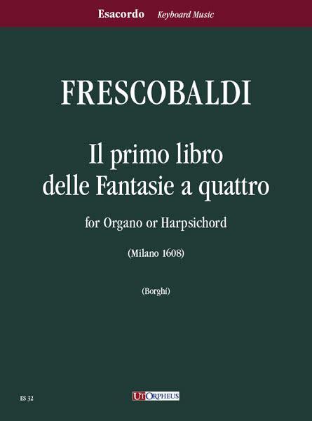 libreria musicale roma frescobaldi girolamo il primo libro delle fantasie a
