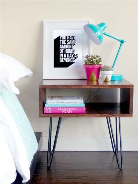 diy bedroom table best 25 modern bedside table ideas on pinterest night