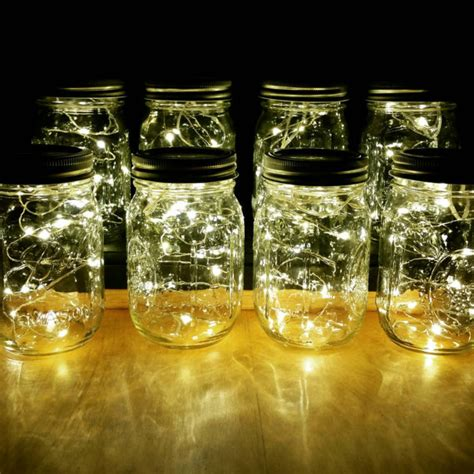 decorations lights sale sale 8 firefly lights and jar centerpieces wedding