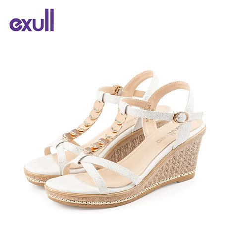 wedges sandals cheap get cheap silver wedge sandals aliexpress