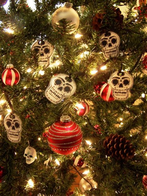 skull christmas tree topper 24 best skull trees images on trees trees and deco