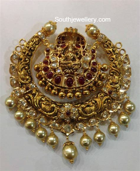 big antique nakshi pendants jewellery designs