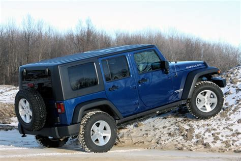 Jeep Four By Four Review 2009 Jeep Wrangler Unlimited Rubicon 4x4 Autoblog
