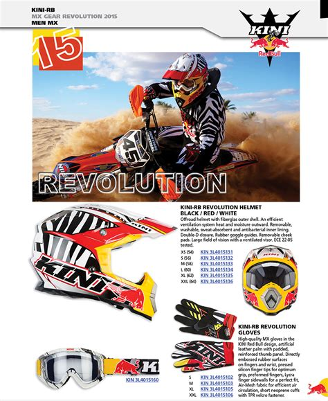 kini motocross mx gear men kid kini redbull kinirb kini rb