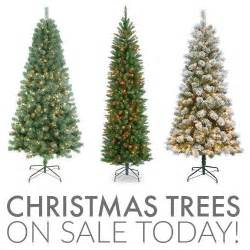 christmas trees on sale 7 pre lit tree only 72 24