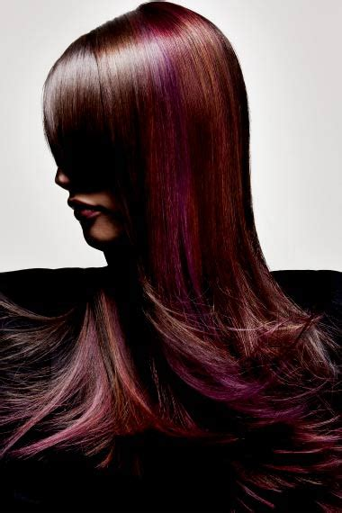 red hair with lowlights highlights and lowlights for brunettes hairstyle