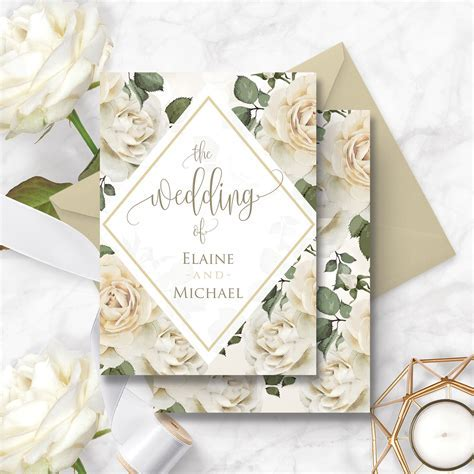 How and when to place an order for wedding invitations