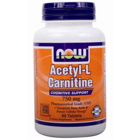 Suplemen L Carnitine Acetyl L Carnitine