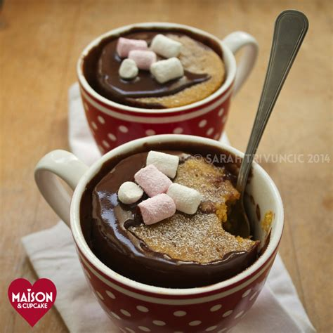 pumpkin mug cakes to microwave in two minutes maison cupcake