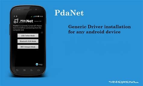 android drivers pdanet for android drivers
