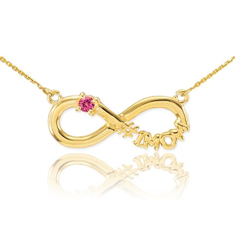 valentine s day gift ideas infinity symbol necklaces