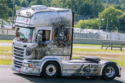 de trucks scania trucks pictures custom truck