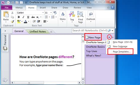 templates for onenote 2010 startravelinternational
