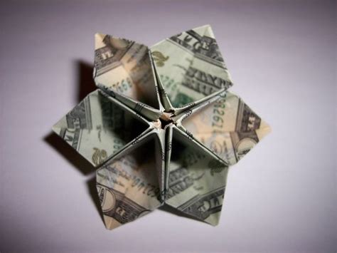 Money Origami Flower - origami dollar bill flower 171 embroidery origami