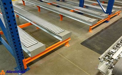 Pallet Flow Rack by Pallet Flow Rack System Atlantic Rack Warehouse