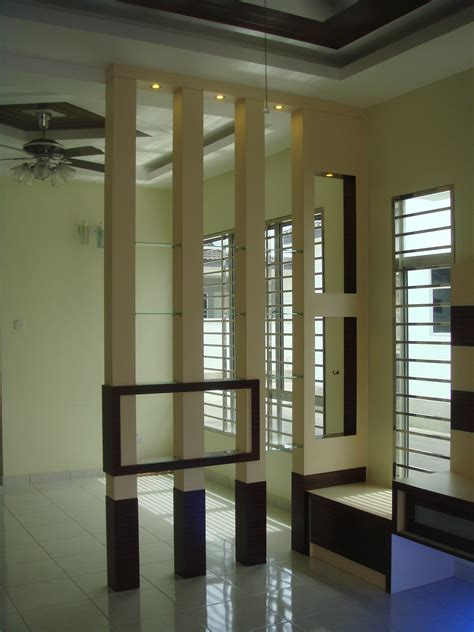 interior partitions for homes renovation penang butterworth house office divider and