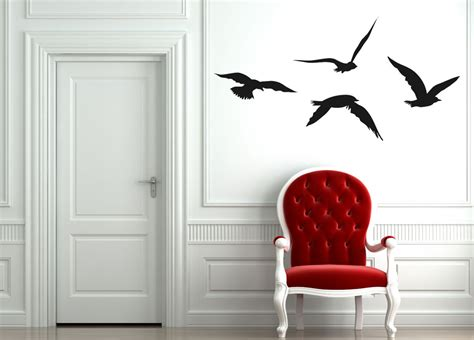 flying bird wall stickers flying birds wall decal wall stickers wall graphics
