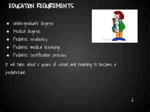 Pediatrician Requirements and astrith pediatrician