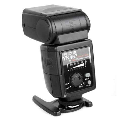 Yongnuo Yn 467 yongnuo yn 467 flash speedlite dedicated e ttl for canon dslr import it all