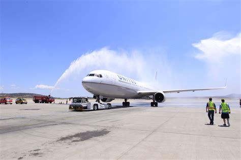 united airlines help united airlines begins seasonal nonstop service between