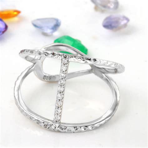 certified 0 10 carat 14k solid white gold ring