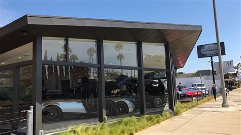 pagani dealership visiting the pagani dealership in newport a 1