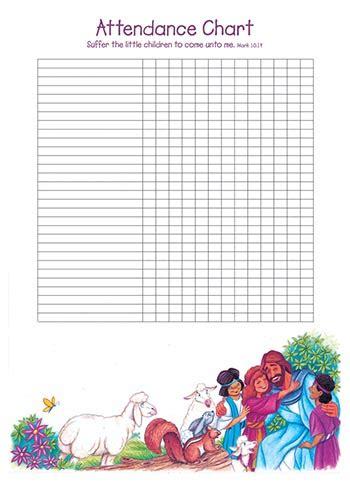 children    attendance chart