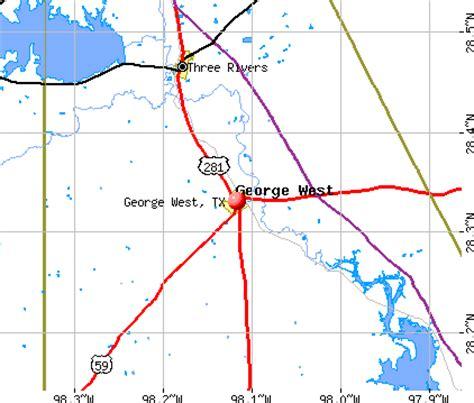 george west tx 78022 profile population maps