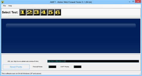 test firewall atelier web firewall tester
