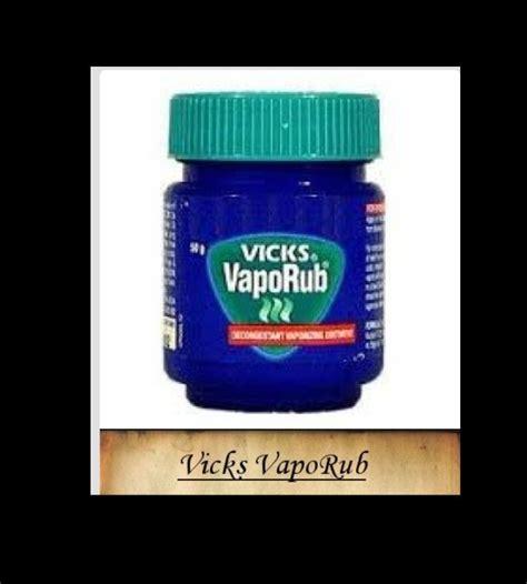 Vicks Vapor Rub Detox by 9 Likes 10 Saves