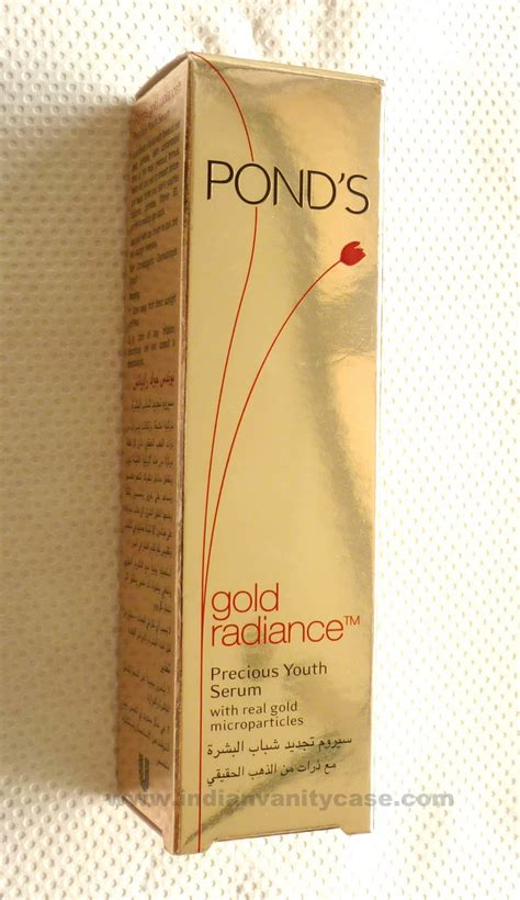 Serum Ponds Gold Radiance indian vanity pond s gold radiance precious youth serum