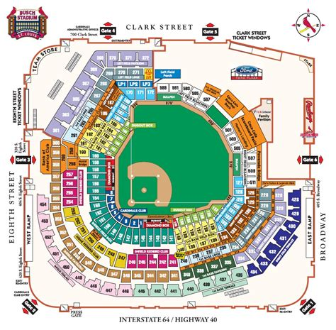 busch stadium seating prices busch stadium st louis mo seating chart view