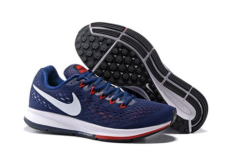 Jogger 34 Nike Trainer nike air zoom pegasus 34 em running shoes sneakers trainers navy blue 831350 006 zmshoes