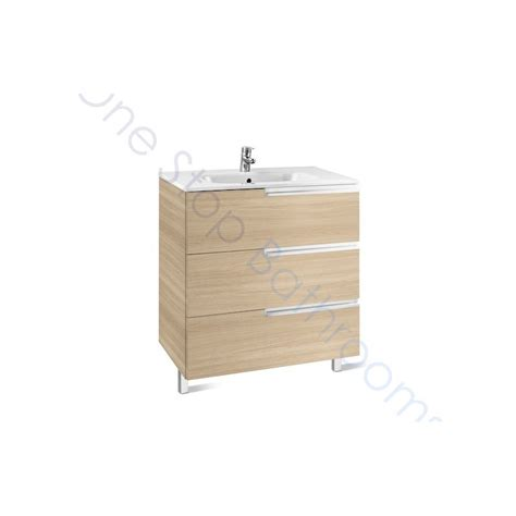 Basin Drawer Unit by Roca N 600mm Drawer Unit And Basin 3 Drawers