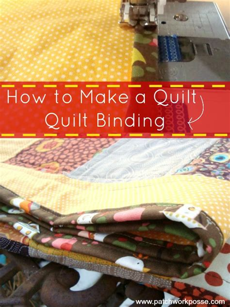 how to make a quilt binding